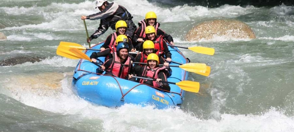 Rafting in South Tyrol